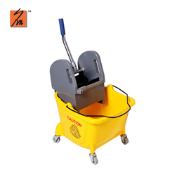 Y1006S 24L Mop Bucket with Down Press Wringer