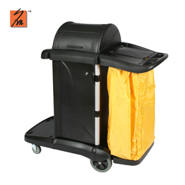 Y1521 Multipurpose Janitor Cart with Cabinet