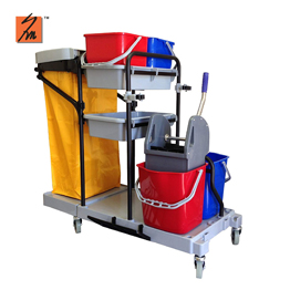Y1518 Multi Function Janitorial Cleaning Cart
